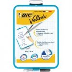 BiC Velleda Whiteboard with Pen & Eraser 24 x 33 cm Pack of 12