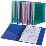 Snopake 10165 Ring Binder 2 Ring A4 Electra Assorted – Pack of 10