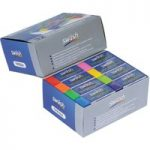 Swäsh Classbox 32 High Performance Plastic Erasers Assorted