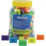 Swash Tub of 50 Motivational Eraser