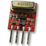 Quasar UK QAM-TX2-433 Miniature AM Transmitter Module