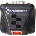 Brainboxes US-235 1 Ultra small Port RS232 USB to Serial Adapter