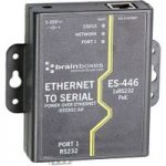 Brainboxes ES-446 1 Port RS232 PoE Ethernet to Serial Adapter