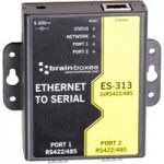 Brainboxes ES-313 2 Port RS422/485 Ethernet to Serial Adapter