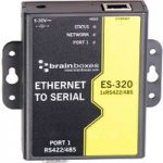 Brainboxes ES-320 1 Port RS422/485 Ethernet to Serial Adapter