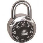 Kasp K11548D Dial Combination Padlock – 48mm