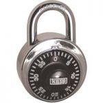 Kasp K11548D Dial Combination Padlock – 48mm