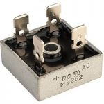 DC Components KBPC2502 25A 200V Bridge Rectifier (MB252)