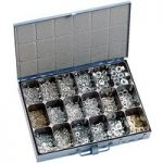 Affix Nut & Washer Assortment In Steel Case – 1800 Pieces