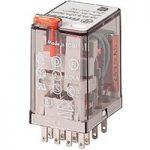 Finder 55.32.9.012.0040 Socket Mount Power Relay 12VDC 10A DPDT