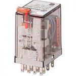 Finder 55.34.9.110.0040 Socket Mount Power Relay 110VDC 4PDT