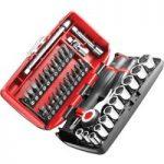 Facom R.360NANOPB Socket Set of 38 Metric 1/4in Drive