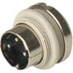 Hirschmann 930 296-517 MASEI 3100 3-Pin Male DIN Plug, Panel Mount