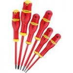 Facom APVE.J6PB VDE Protwist Screwdriver Set SL/PH 6 Piece Set