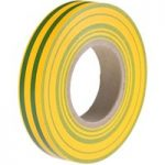 HellermannTyton 710-00117 HelaTape Flex 15 – PVC Tape Green/Yellow…