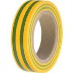 HellermannTyton 710-00106 HelaTape Flex 15 – PVC Tape Green/Yellow…