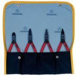 Bernstein 3-940 Pliers Set Burnished In A Wallet – 4 Piece