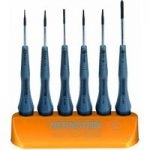 Bernstein 4-190 Screwdriver & Cross-Recess Screwdriver Set – 6 Piece