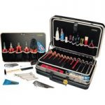 """Bernstein 6750 Service Case """"SECURITY"""" With 64 Tools"""