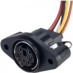 BKL 204027 6-Pin DIN Chassis Mount Socket