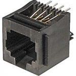 Assmann WSW A-20141 6 Pin RJ12 Socket Black