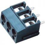 PTR 50100030121G 3-Way PCB Screw Terminal Block 5.0mm 24A