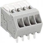 WAGO 218-505 5 Pole PCB Terminal Block 2.54mm 6A Grey