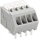 WAGO 218-103 3 Pole PCB Terminal Block 2.5mm 6A Grey
