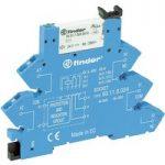 Finder 38.61.7.024.0050 Relay Module 6A SPDT-CO 24VDC AgNi