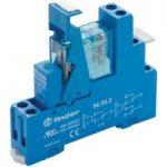 Finder 49.52.7.012.0050 Interface Relay Module 12VDC 8A DPDT (AgNi)