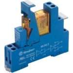 Finder 49.52.9.024.0050 Interface Relay Module 24VDC DPDT + Diode …