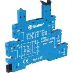 Finder 93.01.0.240 Relay Socket 250V 6A for 34.51 Series Relays