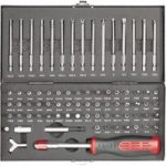 Toolcraft 820952 Safety & Special Bit Set 75pc