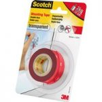 3M™ Scotch Mounting Tape Transparent 19mm x 1.5m