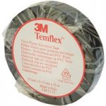 3M™ XE003411438 Temflex™ 1500 PVC Electrical Insulating Tape Black…