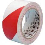 3M™ 7100015266 767i Hazard Marking Vinyl Tape PVC Red/White 50mm x 33m