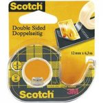 3M™ 70071026903 Scotch Double Sided Tape 12mm x 7.9m In Dispenser