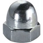 Toolcraft 194788 Domed Cap Nuts DIN 1587 Galvanized Steel M5 Pack …