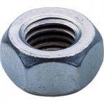 Toolcraft 88 80 21 Hexagon Nuts DIN 934 Galvanised Steel 6AU M1 Pa…