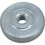 Toolcraft DIN 467 – 5 ZN Knurled Nuts Grade 5 Galvanized Steel M4 …