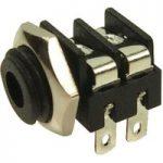 Cliff Electronic – CL1382- MONO PANEL SKT S6/BB 3.5mm BLACK