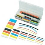 Conrad SUHT77-K4 77 Piece Heat Shrink Sleeving Set 2:1 Assorted Co…