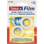 tesa® 57911 Film Double Sided Adhesive Tape Transparent 12mm x 7.5…