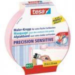 tesa® 56260 Precision Sensitive Masking Tape Rose 25mm x 25m