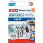 tesa® 58000 Powerstrips Large Pack Of 10