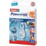tesa® 59700 Powerstrips Waterproof Large Pack Of 6