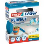 tesa® 56341 Extra Power Fabric Tape – Blue – 19mm x 2.75m