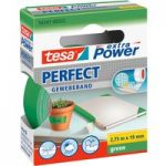 tesa® 56341 Extra Power Fabric Tape – Green – 19mm x 2.75m
