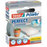 tesa® 56341 Extra Power Fabric Tape – Grey – 19mm x 2.75m