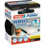 tesa® 56343 Extra Power Fabric Tape – Black – 38mm x 2.75m